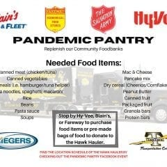 Muscatine Pandemic Pantry To Help Salvation Army Happening Today At Farm & Fleet