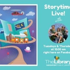 Storytime Live! with the Davenport Public Library