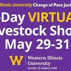 Western Illinois University Hoof N Horn Club to Host Virtual Show May 29-31