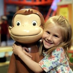 Kids Can Get 'Curious' With George At New Family Museum Exhibit