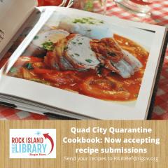 """Contributions Sought for Quad City """"Quarantine Cookbook"""""""