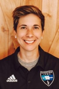 Abbie Metz Named Coach Of Black Hawk College's First Women's Soccer Team