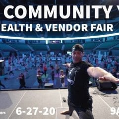 Free Community Yoga and After Party