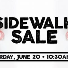 Crafted QC Holding First Sidewalk Sale Saturday