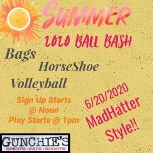 2020 Summer Ball Bash at Gunchies