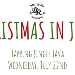 Celebrate Christmas in July with Bent River's Jingle Java
