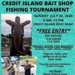 Credit Island Bait Shop Hosts Fishing Tournament