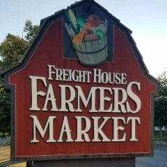 Cruise Into the Freight House Farmers' Market
