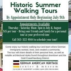 GAHC Historic Walking Tours Return