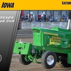 Pullin For You Tractor Pull Rolls into Davenport