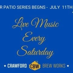 Summer Patio Series at Crawford Brew Works