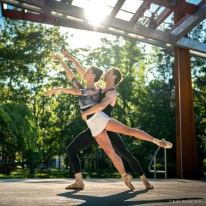 Ballet Quad Cities to Start New Season Outside at Outing Club