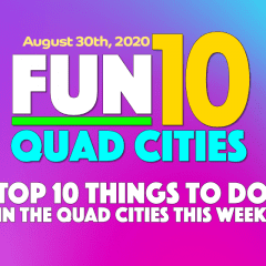 10 Fun Things To Do Week of August 30th: Comedy, Fishing, Live Music and MORE!