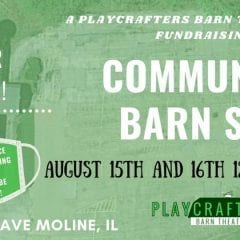 Community Barn Sale at Playcrafters Barn Theatre