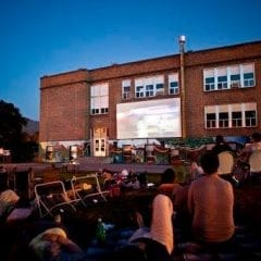JAWS on the Big Screen in Downtown Davenport