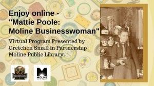 Learn About Moline Businesswoman Mattie Poole