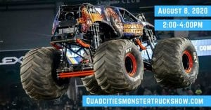 Monster Trucks Rolling into the Quad Cities