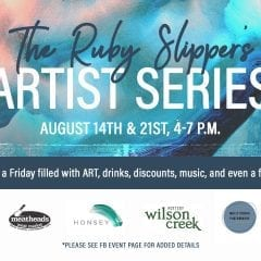 The Artist Series at The Ruby Slipper