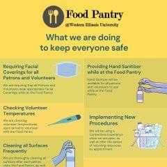 Western Illinois University Food Pantry Volunteers Needed for Fall 2020 Semester