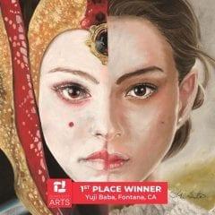 California Designer Wins Quad City Arts Chalk Art Fest