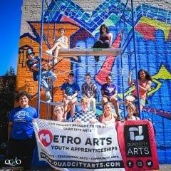 Quad City Arts' Metro Arts Program is Accepting Applications