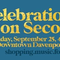 Celebration on Second in Downtown Davenport