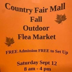 Country Fair Mall in Coal Valley Hosts Fall Outdoor Market