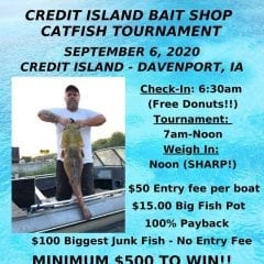 Credit Island Bait Shop Catfish Tournament