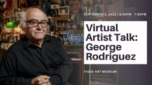 Virtual Artist Talk with George Rodriguez