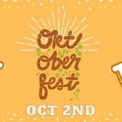 Get Your Oktoberfestbier this Friday!