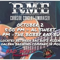 RME Curbside Fundraiser in Downtown Moline