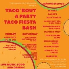 Taco 'Bout a Party Taco Fiesta Bash