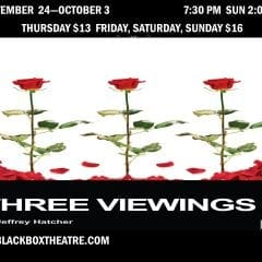 Moline's Black Box Theatre Opening 'Three Viewings' Sept. 24