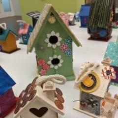 Over 200 Painted Birdhouses Take Flight at Davenport's Figge Art Exhibit