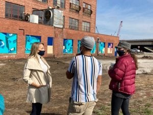 Civic and Art Leaders Welcome Bright New Installation on Moline Riverfront