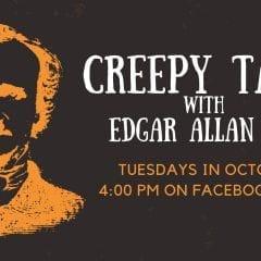 Creepy Tales with Edgar Allan Poe on Facebook