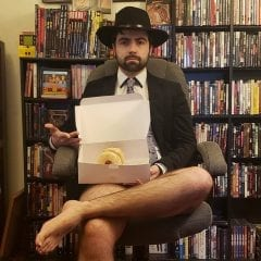 Greatest GIF In History, Featuring Quad-Citian Khalil Hacker Eating Donuts, Brought Into Existence