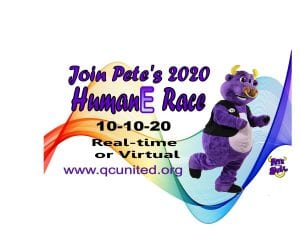 Pete the Purple Bull's Humane Race Racing In For Charity This Weekend