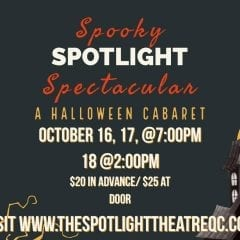 Spotlight Theater In Moline Unveiling A Halloween Cabaret!