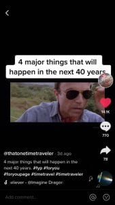 Is This Man Really A Time Traveler From The Year 2485???