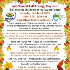 29th Annual Fall Ecology Day
