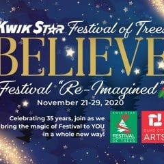 Quad City Arts Getting Ready for Reimagined Festival of Trees