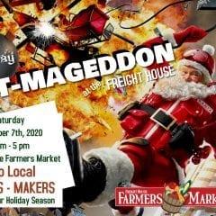 Art-Mageddon Rocks The Davenport Farmers Market