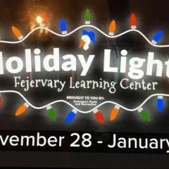 See The Holiday Lights In The Park In Davenport