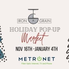 Shop Local Small Businesses At East Moline's Iron And Grain