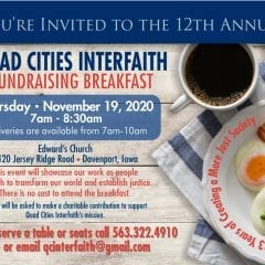 Quad City Interfaith Breakfast Being Served Up