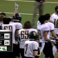 Regina Catholic Wins Iowa Class A State Football Championship