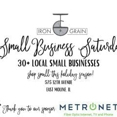 Shop Small With Small Business Saturday