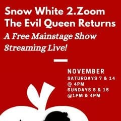 Davenport Junior Theatre Streaming 'Snow White 2.Zoom: The Evil Queen Returns!'