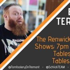 Davenport's Tomfoolery on Tremont Features Brent Terhune